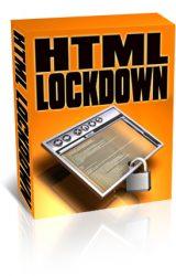 html-lock-down-plr-software-cover  HTML Lock Down PLR Software html lock down plr software cover 160x250
