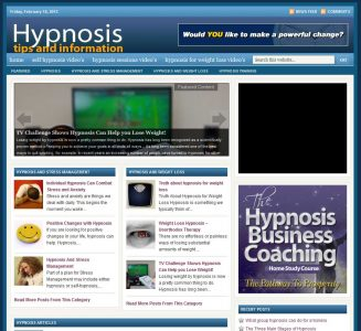 Hypnosis PLR Website with Private Label Rights hypnosis plr website cover 327x300