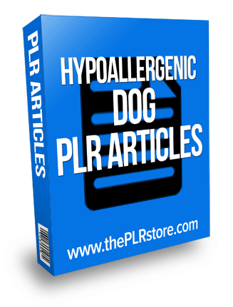 hypoallergenic dog plr articles