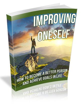 Improve Oneself PLR Ebook