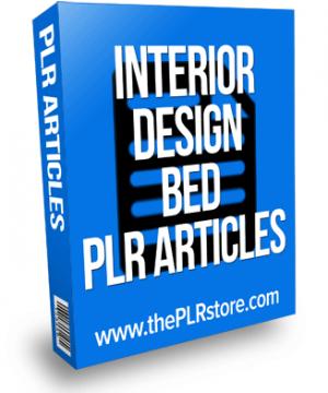 interior design bed plr articles