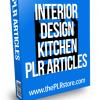 interior design kitchen plr articles