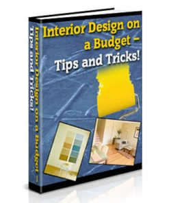 interior design on a budget plr ebook