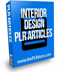 interior design plr articles