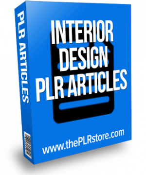 interior design plr articles