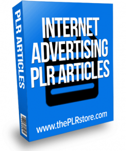 internet advertising plr articles