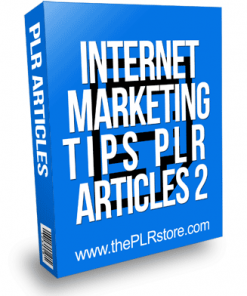 Internet Marketing Tips PLR Articles 2