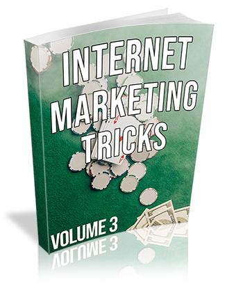 Internet Marketing Tricks Volume 3 PLR Ebook
