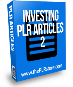 investing plr articles