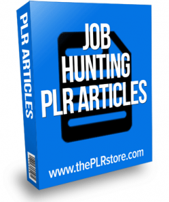 job hunting plr articles