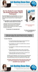 private label rights Private Label Rights and PLR Products job hunting plr autoresonder series squeeze page 132x250