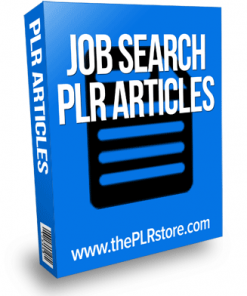 job search plr articles