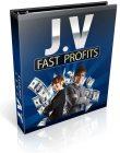 Joint Venture Fast Profits PLR Ebook Package joint venture fast profits plr ebook cover 110x140