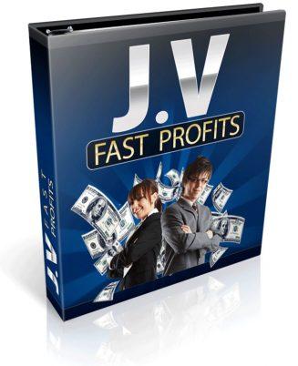 Joint Venture Fast Profits PLR Ebook Package joint venture fast profits plr ebook cover 327x402