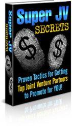 jvbook1  Super Joint Venture Secrets PLR eBook jvbook1 141x250