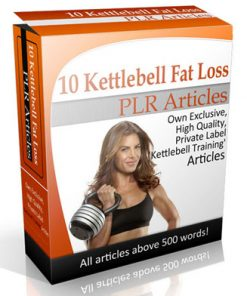 Kettlebell Fitness PLR Articles with private label rights