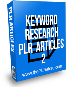 keyword research plr articles 2