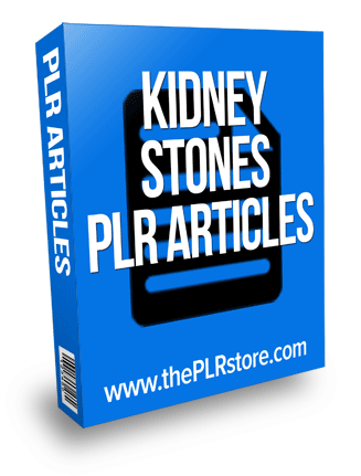 kidney stones plr articles