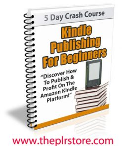 kindle publishing for beginners plr autoresponder