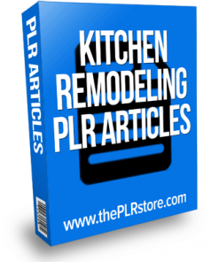 kitchen remodeling plr articles