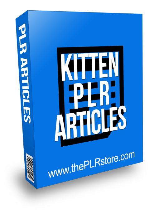 Kitten PLR Articles