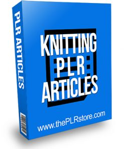 Knitting PLR Articles