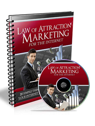 Law of Attraction for Marketing PLR Ebook