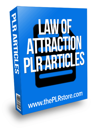 law of attraction plr articles