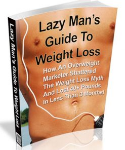 lazy mans guide to weight loss plr ebook