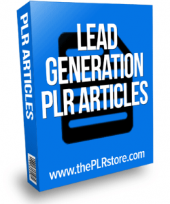 lead generation plr articles