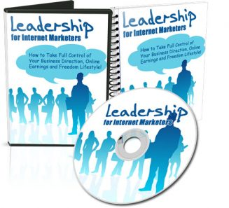 Leadership For Internet Marketers PLR Audio/Video leadership for internet marketers plr cover 327x297