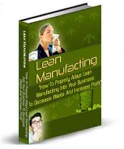 Lean Manufacturing PLR Ebook
