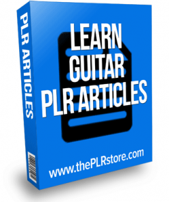 learn guitar plr articles