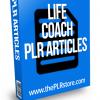 life coach plr articles