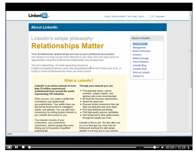 linkedin traffic plr video