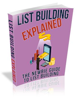 List Building Explained PLR Ebook