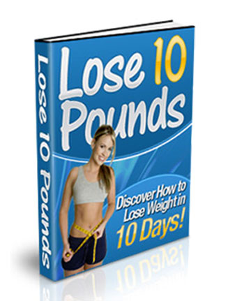 lose 10 pounds in 10 days plr ebook