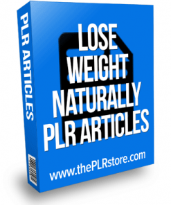 Lose Weight Naturally PLR Articles