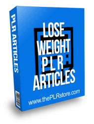 Lose Weight PLR Articles