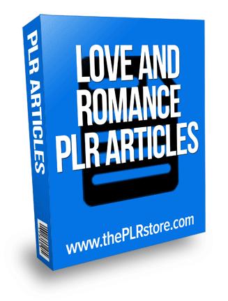 love and romance plr articles