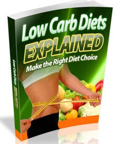 low carb diet explained ebook