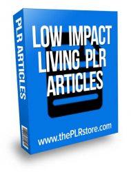 low-impact-living-plr-articles  Low Impact Living PLR Articles with Private Label Rights low impact living plr articles 190x250