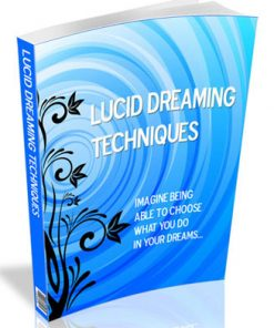 lucid dreaming plr ebook