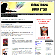magic-tricks-amazon-store-plr-website-cover  Magic Tricks Amazon Pre-Loaded Store PLR Website Adsense and Clickbank magic tricks amazon store plr website cover 190x190