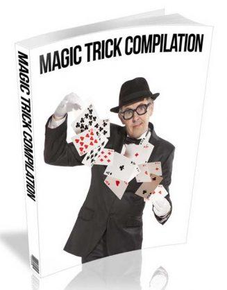 Magic Trick Compilation PLR Ebook and Audio magic tricks complitation plr ebook audio 327x418