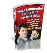 makeexponentialbackendsalescover  Make Exponential Profits with Backend Sales PLR eBook makeexponentialbackendsalescover 190x213
