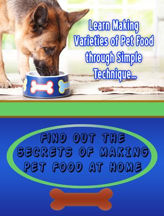 making pet food at home ebook