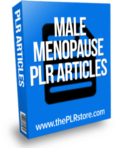 male menopause plr articles