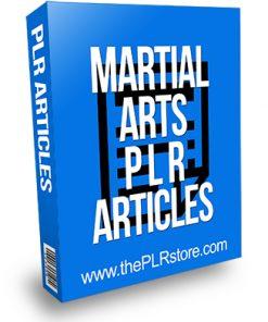 Martial Arts PLR Articles
