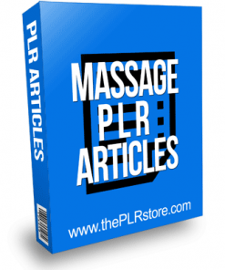 Massage PLR Articles